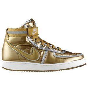 Nike Vandal High Quickstrike Gold Hi Top Sneakers